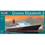 Revell 1:1200 Queen Elizabeth 2 5806 hajó makett