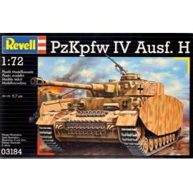 Revell 1:72 PzKpfw.IV Ausf.H 3184 harcjármű makett