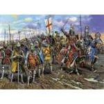 Zvezda 1:72 English Knights (of the 100 years war) 8044 figura makett