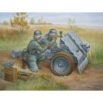 Zvezda 1:72 German 75mm Infantry Gun (Military small sets) 6156