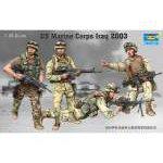 Trumpeter 1:35 US Marine Corps Iraq 2003 00407 figura makett