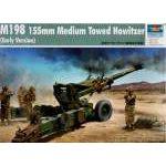 Trumpeter 1:35 M198 155mm Medium Towed Howitzer 02306 harcjármű makett