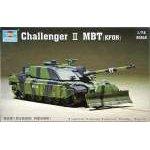 Trumpeter 1:72 Challanger II MBT (KFOR) 07216 harcjármű makett