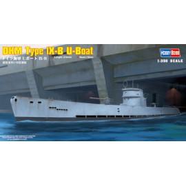 Hobbyboss 1:350 DKM Type IX-B U-Boat 83507 hajó makett