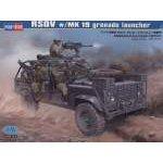 Hobbyboss 1:35 RSOV w:MK 19 grenade launcher 82449 harcjármű makett