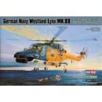 Hobbyboss 1:72 German Navy Westland Lynx Mk.88 87239 helikopter makett