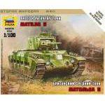 Zvezda 1:100 British Tank Mk-1 ´Matilda´ 6171 harcjármű makett