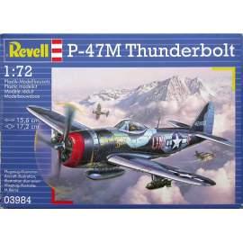 Revell P-47 M Thunderbolt no.3984