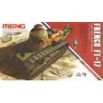 Meng Model 1:35 FT-17 Light Tank - francia könnyű harckocsi MMTS-008
