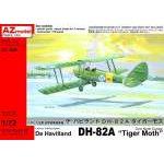 """AZ Model 1:72 - DE HAVILLAND D82A """"TIGER MOTH"""" OVER NORTH EUROPE"""