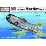 AZ Model 1:72 - GRUMMAN MARTLET MK.LLL (F4F-3) AZ7407