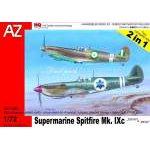 "AZ Model 1:72 - SUPERMARINE SPITFIRE MK. IXC ""IDF/AF & REAF"" AZ7393"