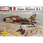 AZ Model 1:72 - DASSAULT SUPER MYSTERE B2 IZ/P&W - AZ7351