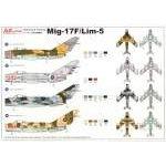 AZ Model 1:72 - MIG-17F/LIM-5 - AZ7329