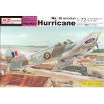 AZ Model 1:72 - HAWKER HURRICANE MK.IV/W ROCKETS - AZ7305