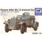 Bronco Models 1:35 German Adler Kfz.13 Armoured Car