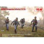 ICM 1:35 Osztrák-Magyar gyalogság I.világháború (1914)