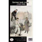 Masterbox 1:35 German (WWII) Tank Crews (1943-1945) MB3508