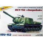 Zvezda 1:35 ISU-152 Soviet Self-propelled Gun
