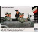 Masterbox 1:35 German WWII staff car passengers