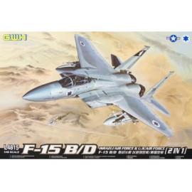 Great Wall Hobby - 1:48 McDonnell F-15B/D Eagle Israeli Air Force & U.S.Air