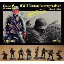 Caesar Miniatures 1:72 - German Panzergrenaidier (Kursk 1943)