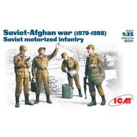ICM 1:35 Soviet motorized infantry Afghanistan 1979-1988