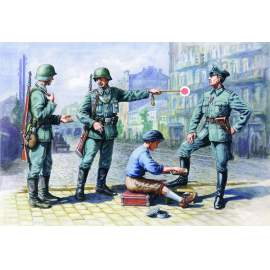 ICM 1:35  German (WWII) Patrol (1939-42)