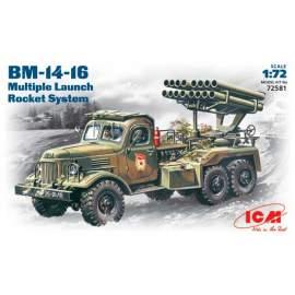 ICM - 1:72 BM-14-16 Katiusha on Soviet Zil-157
