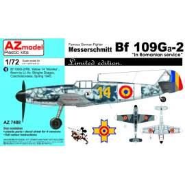 """AZ Model 1:72 - MESSERSCHMITT BF 109GA-2 """"IN ROMANIAN SERVICE"""""""