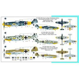 """AZ Model 1:72 - MESSERSCHMITT BF 109G-2 """"ACES"""""""