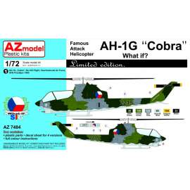 "AZ Model 1:72 - ATTACK HELICOPTER AH-1G LATE ""COBRA"" WHAT IF?"