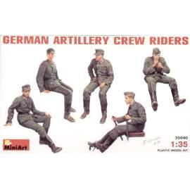 Miniart 1:35 German (WWII) Artillery Crew Riders
