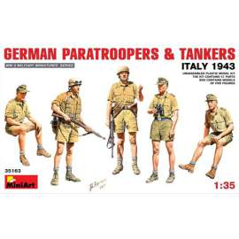 Miniart 1:35 German Paratroopers and Tankers (Italy 1943)
