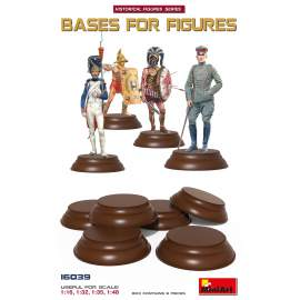 Miniart 1:16 Bases for figures (6 db)