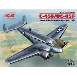 ICM - 1:48 C-45F/UC-45F, WWII  USAAF Passenger Aircraft