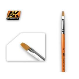 Flat Brush 2 (2-es méretű szintetikus lapos ecset)