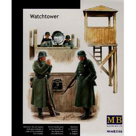 Masterbox 1:35 German WWII Watchtower and guards