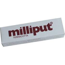 Milliput 2 part epoxy filler. Terracotta