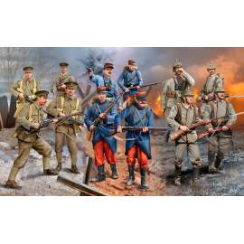 Revell 1:35 WWI INFANTRY German/British/French (1914)