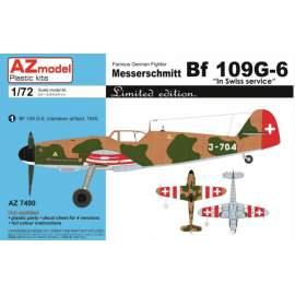 AZ Model - 1:72 Messerschmitt Bf 109G-6 In Swiss service
