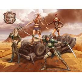 Masterbox 1:35 Desert Battle Series, Skull Clan - Death Angels