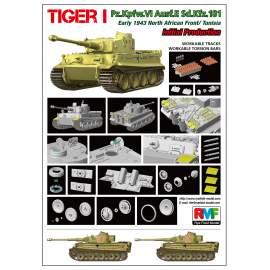 Ryefield model 1:35 Tiger I. Pz.Kpfw. VI. Ausf. E