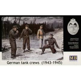 Masterbox 1:35 German (WWII) Tank Crews (1943-1945)