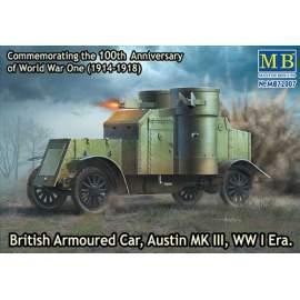 Masterbox 1:72 British Armoured Car, Austin, MK III, WW I Era