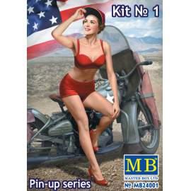 Master Box 1:24 Pin-up series, Kit No. 1. Marylin