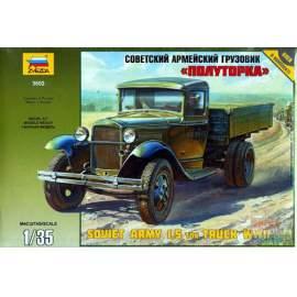 Zvezda - GAZ-AA Soviet Army 1,5 Ton Truck WWII