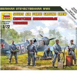 Zvezda 1:72 - Soviet Airforce Ground Crew