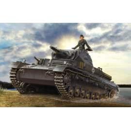 Hobbyboss 1:35 - German Panzerkampfwagen IV Ausf D/TAUCH harcjármű makett
