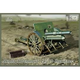 IBG Model 1:35 Skoda 100mm vz 14/19 Howitzer